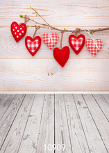 SHENGYONGBAO  Art Cloth Custom Photography Backdrops Prop Valentines day Theme Background 10909