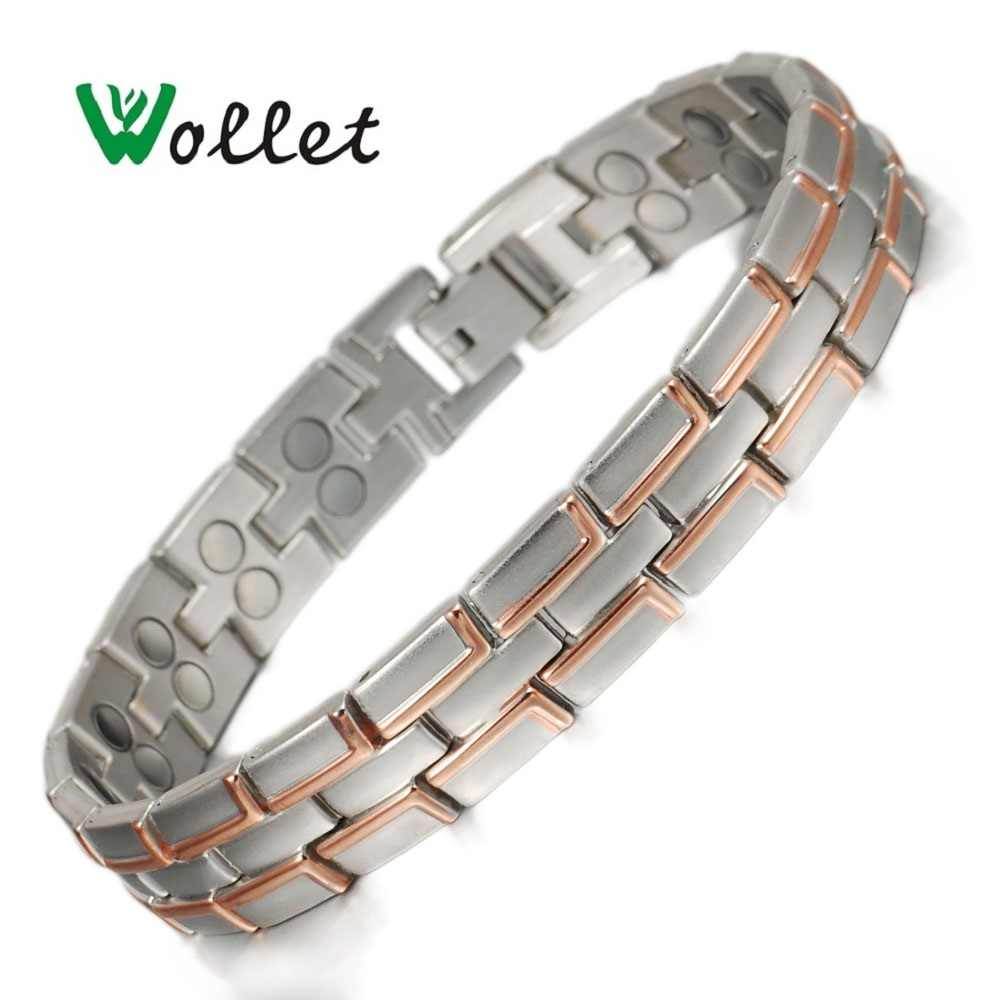 dcee33fc77811 Wollet Jewelry Magnetic Bracelets Bangles for Men 5 in 1 Or All ...