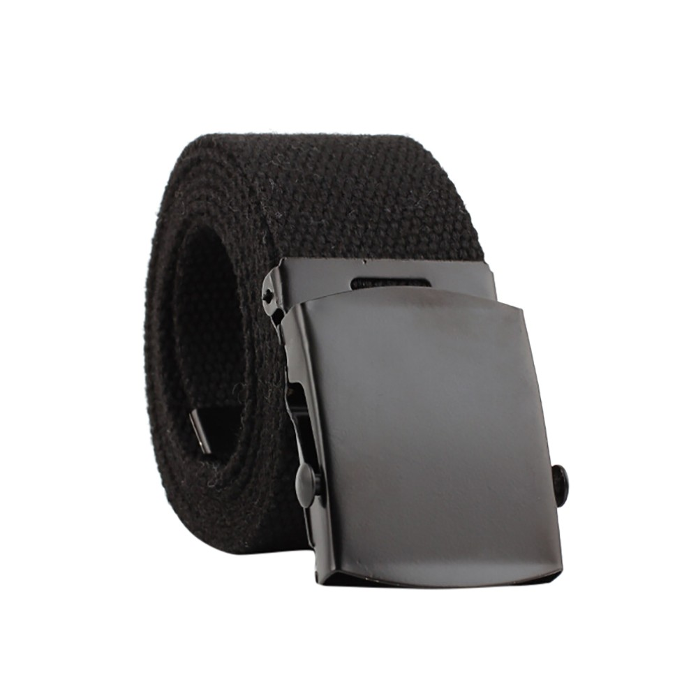 Clothes accessories Men Women Automatic Fashion Nylon   Belt   adult Solid Buckle Fans Unisex Casual Knitted pin buckle Canvas   Belts