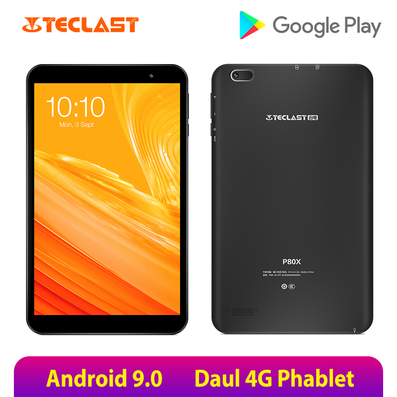 Teclast Tablet Android P80x8inch Dual-Camera 2GB-RAM Octa-Core GPS SC9863A 16GB IPS 4G