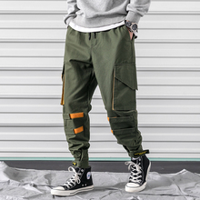M-3XL 2019 Spring Track Pants Men Sweatpants Mens Joggers Pants Cargo Camo Tactical Harem Men Pants Slim цена 2017