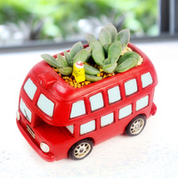 Institute Of Manufacturers Selling Cute Vintage Cars Chuanfang Fleshy Flower Gardening Flowerpot Combined Wholesale