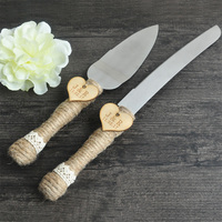 Personalized Rustic Wedding Cake Cutter And Knife Wedding Cake Serving Set Wedding Accessories