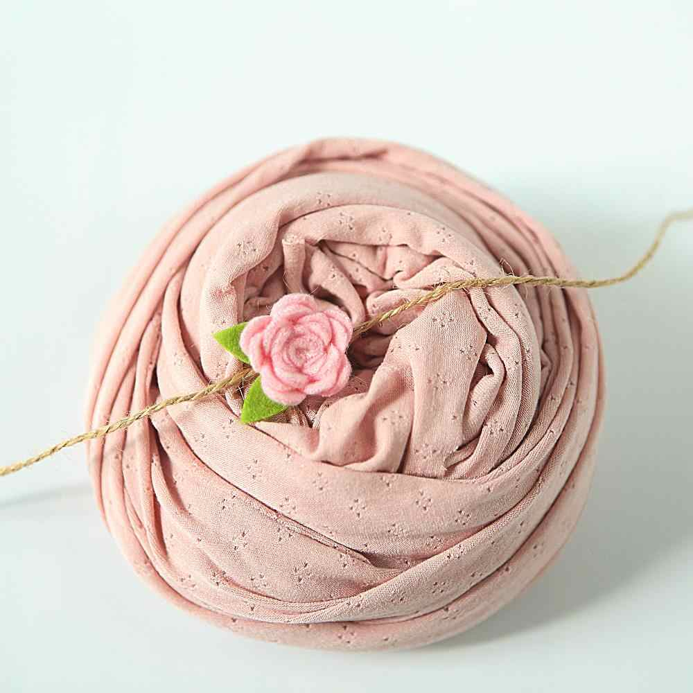 Cotton newborn-photography-props wrap+headband stretchy knit Wraps blanket requisiten babyshooting baby hammock prop filler