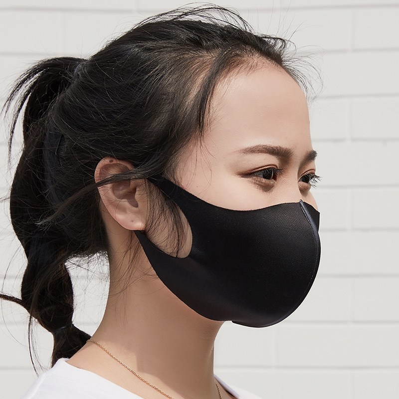 Summer New Masks For Men And Women Fashionable Black Stereo Star Sunscreen, Dust-proof And Thermal Masks