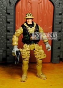 Image 3 - Chap Mei figurine daction militaire, figurine daction militaire 1:18, figurine de soldat SAS du service aérien spécial de larmée britannique 3.75