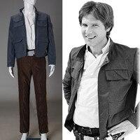 Cosplay Star Wars Costume Han Solo Halloween Full Set Party Halloween Costume