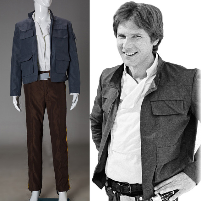 Cosplay Star Wars Costume Han Solo Halloween Full Set Party