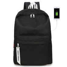 Backpack Male Fashion Trend European And American Style High School Junior Student bag Travel