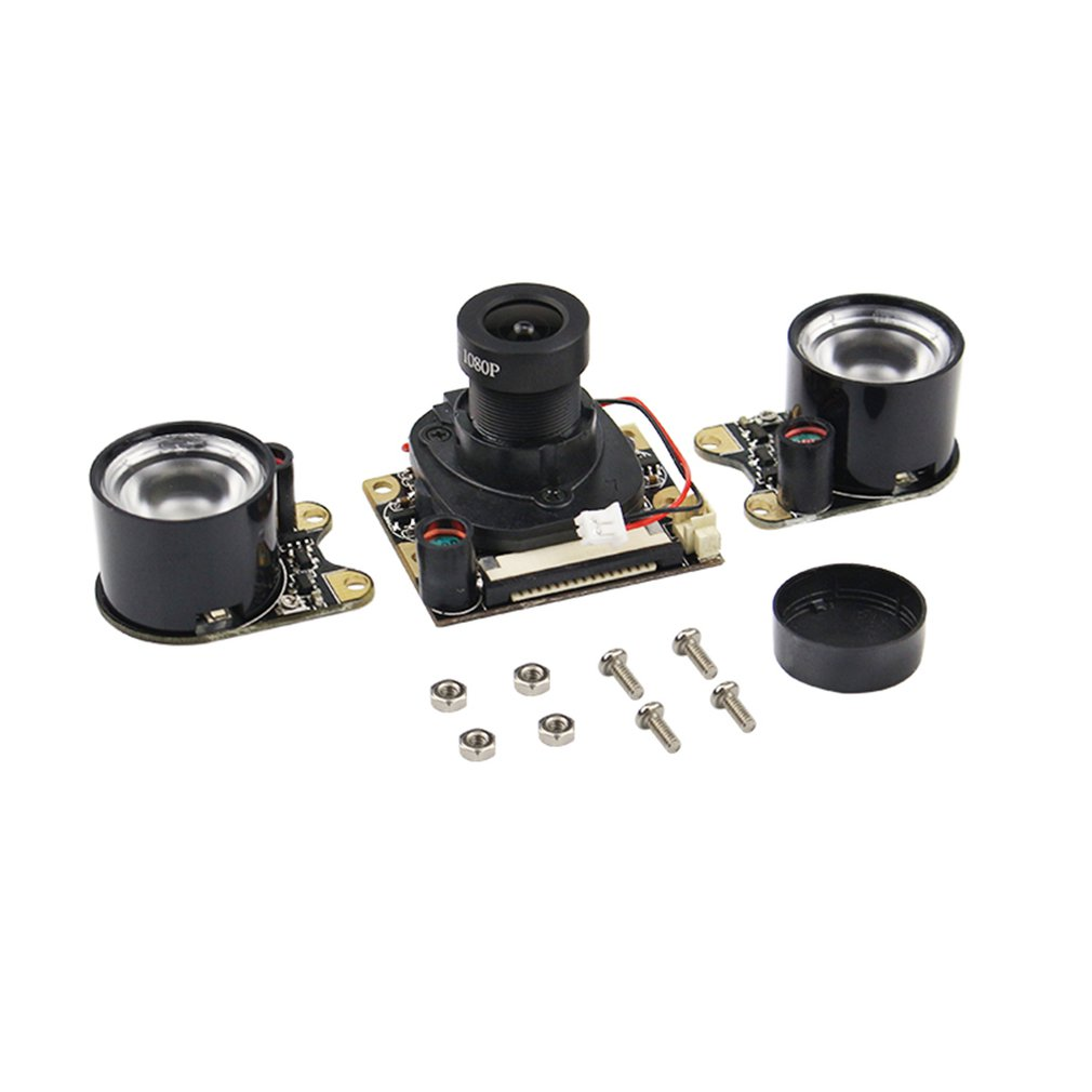 For Raspberry Pi3 Camera 5MP Webcam Built in IR Cut Switching Day Night Vision Shooing Mode for Raspberry Pi 3B/3B+/Pi 2B B+|Camera Modules| |  - title=
