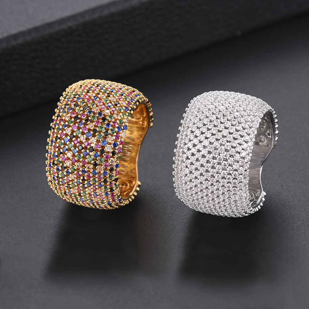 GODKI Luxury Cubic Zirconia Wedding Rings for Women Bridal Engagement Wedding Jewelry CZ Femmale Accessories Whole Finger Rings bravkis wedding bands eternity rings with zirconia for women cz crystal promise engagement finger ring bague jewelry bur0279