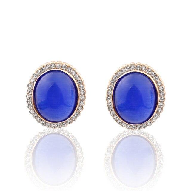 Купить круглые серьги alulu модные украшения из горного хрусталя карамельных