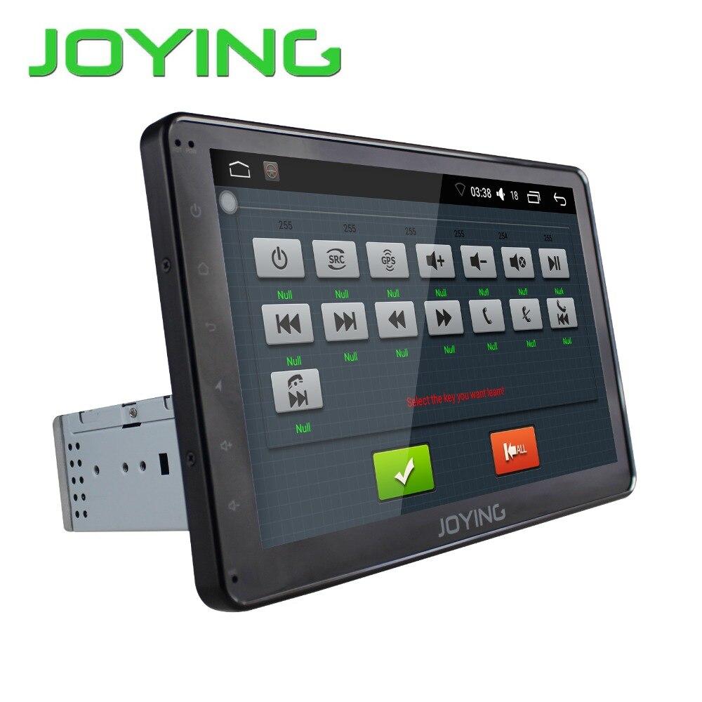 Joying 10.1″ 2GB+32GB Car Stereo Autoradio GPS Navigation For Universal Single 1 Din Android 6.0 Quad Core 1024*600 Head Unit