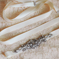 TOPQUEEN S29 Free Shipping Pure Handmade Wedding Belt Shinny Bridal Belts Crystal Rhinestone Wedding Dress Sashes