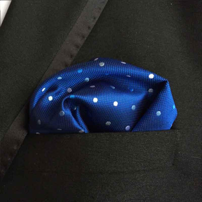 High Quality Fashion Pocket Square Handkerchief Men Accessories Scarves 18 Colors Polyester Olid Color Vintage 25cm*25cm