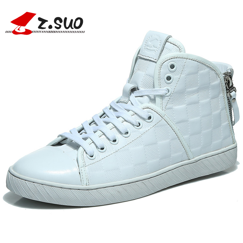 Zsuo men s autumn and winter trend high casual shoes high top the latest popular fashion