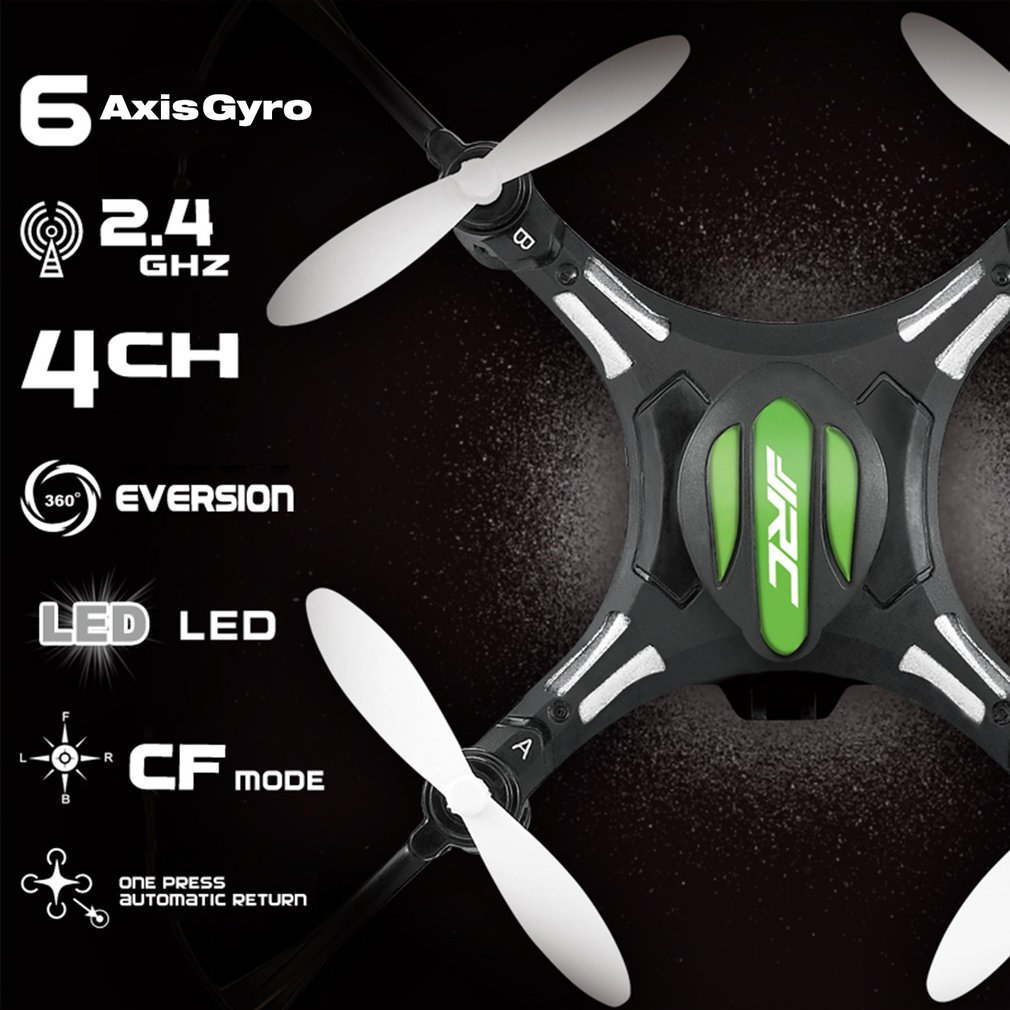 JJRC H8 Mini RC drone 2.4G 4CH 6-axis Gyro Headless Mode Drone 360 Degree Rollover One Key Return RTF RC Helicopter Quadcopter jjrc h12c 6 axis headless mode 2 4g 4ch rc quadcopter 360 degree rollover ufo helicopter professional drone dron 5 0mp hd camera