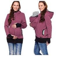 Mother's Winter Warm Kangaroo Baby Carrier Backpack Coat Sling Baby Carrier Cover Baby Sling Wrap Carrier Kangaroo Hoodie 0~12M
