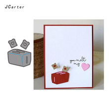 JC Metal Cutting Dies for Scrapbooking 2019 Cut Heart Card Box Craft Stencil Handmade Paper Making Model Decoration
