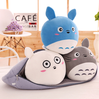 WVW Cartoon Lovely Totoro Legume Plush Toys Kids Toys New Style Totoro Pillow Cushion Cloth Doll
