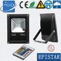 Cp frete grátis 10 w 20 w 30 w 50 w luz de inundação preto shell LED ao ar livre lâmpada busca luz luminária LED