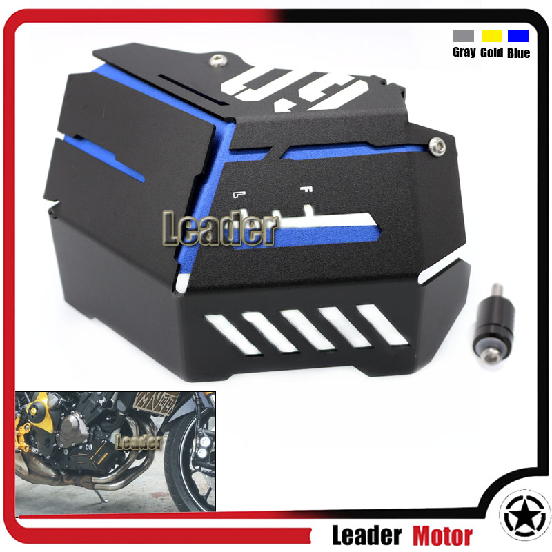 For Yamaha MT-09 FZ-09 FJ-09 MT-09 Tracer/Tracer 900 2014-2016 Motorcycle Accessories Coolant Recovery Tank Shielding Cover for yamaha fz 09 mt 09 fj 09 mt09 tracer 2014 2016 motorcycle integrated led tail light brake turn signal blinker lamp smoke