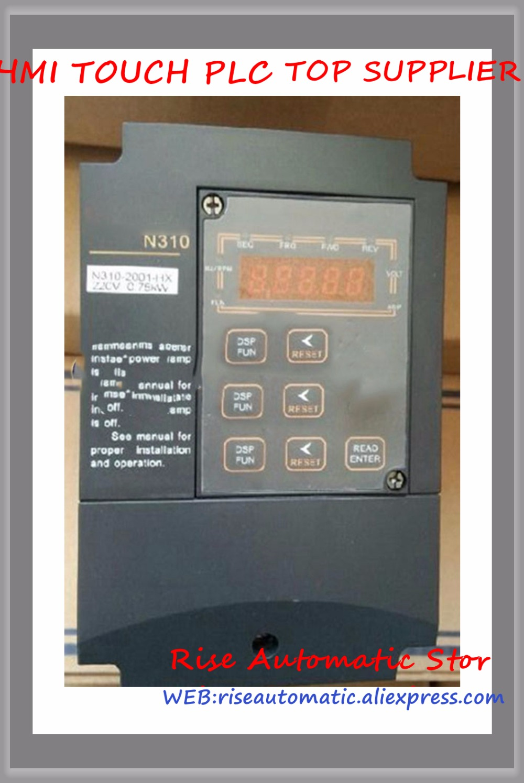 1phase/3phase 200 V 4.5A 0.75KW 1HP Onduleur N310-2001-H nouveau1phase/3phase 200 V 4.5A 0.75KW 1HP Onduleur N310-2001-H nouveau