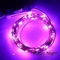 Magicnight 16FT 50 LED Alimentado Por USB Operado Fio de Cobre Led String Luz Estrelado Roxo Luzes de Campismo e Backlight TV