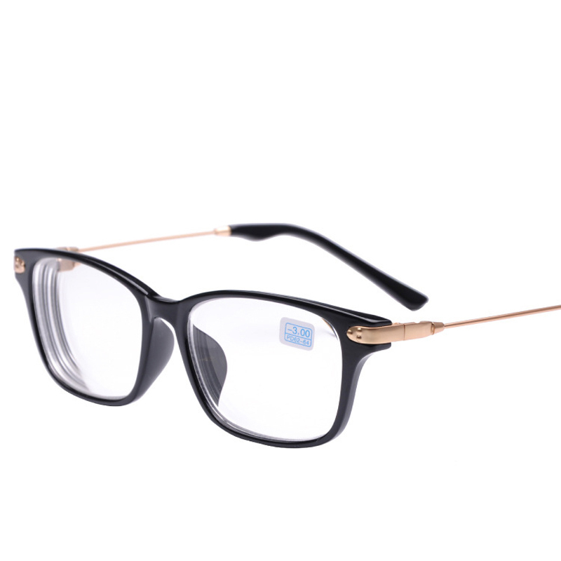 peekaboo new brand high quality cheap prescription eyeglasses men student 2 15 discount myopia