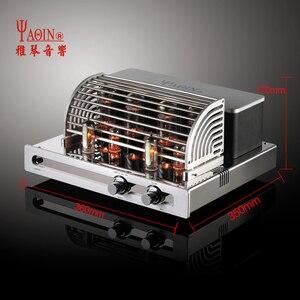 Image 2 - Yaqin MC 5881A amplificador de tubo de alta fidelidade áudio estéreo tubo de vácuo amplificador de tubo de pré amplificador em casa tubo de áudio amp
