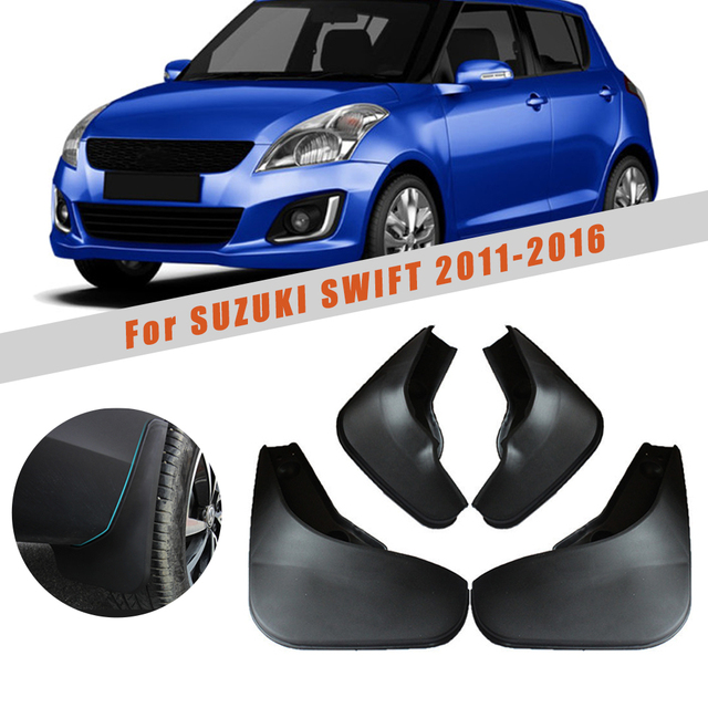 Maite For Ford Focus 3 MK3 Sedan 2011-2016 Car Front and Rear Mud Flaps Splash Guards Fender Mudguard 4Pcs