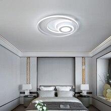Neue Runde Moderne Led deckenleuchten Für wohnzimmer Bett zimmer licht hause beleuchtung weiß Aluminium hohe helligkeit Decke Lampe