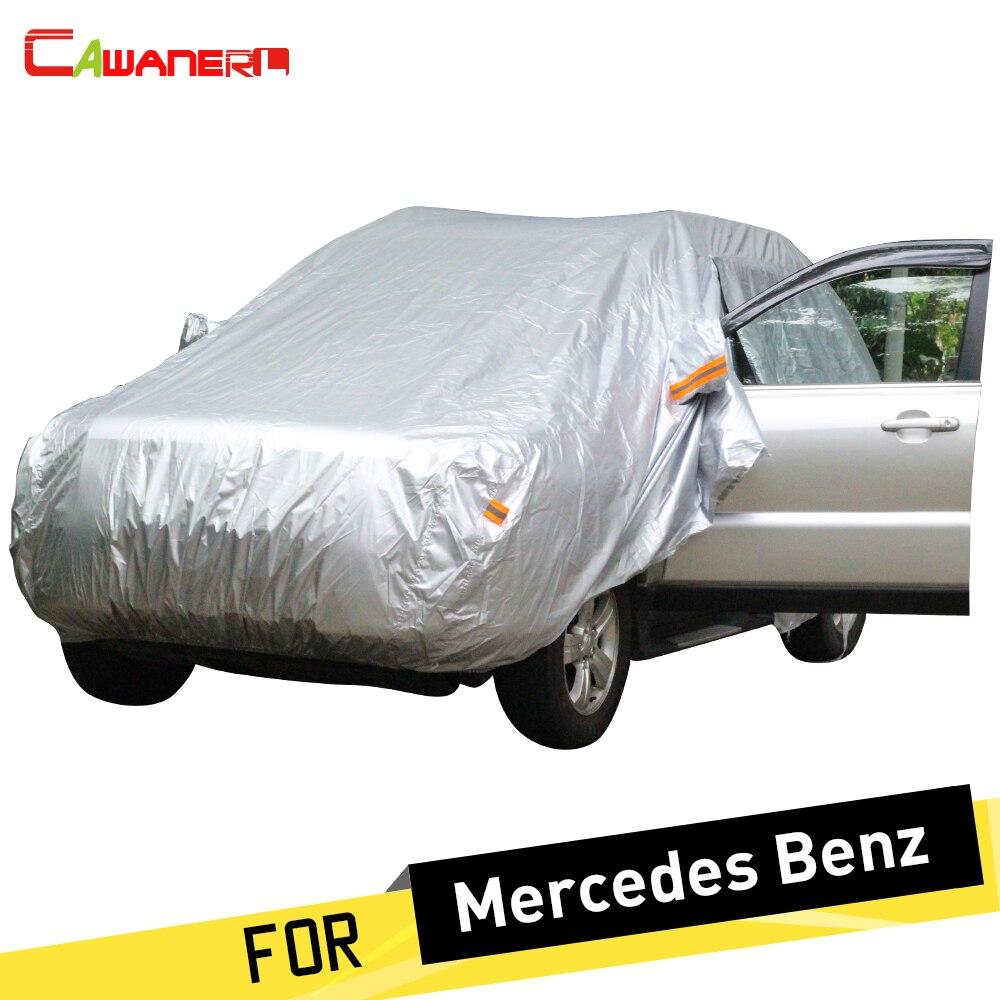 Cawanerl bâche de voiture SUV soleil pluie neige protecteur couverture pour Mercedes Benz GLA200 GLA220 GLA260 GLE300 GLE320 GLE350 GLE400 GLE450
