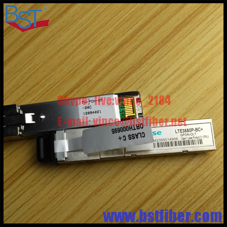 Hisense SFP module for GPON OLT LTE3680P BC GPON OLT Fiberhome GC8B GCOB board SFP modules