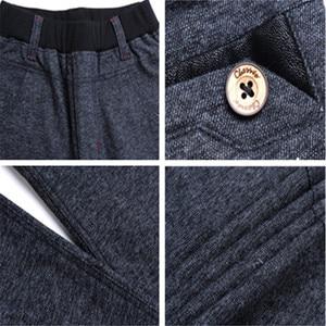 Image 5 - Chłopięce spodnie modele zimowe duże dziewicze spodnie rozciągliwe dziecięce spodnie dorywczo spodnie chłopięce dodatkowo pogrubiony aksamit dziecięcy pojedynczy/spodnie