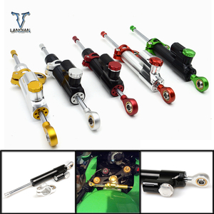 Image 1 - For Kawasaki Z900 Z650 Z 650 Z 900 Universal Motorcycle Accessories Stabilizer Damper Steering For Yamaha MT 07 MT07 2014 2017