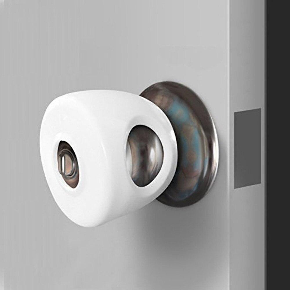 Door Round Knob Silicone Safety Cover Doorknob Guard