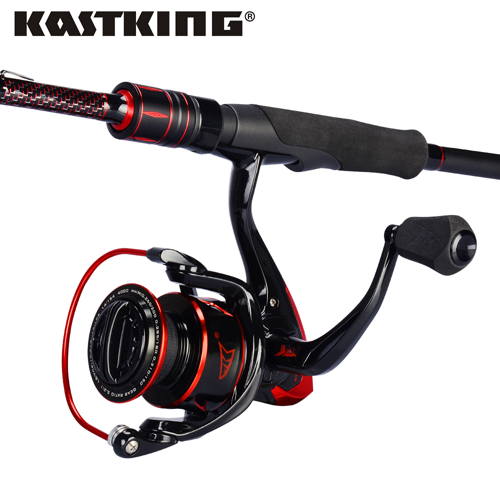 KastKing Sharky III Fishing Reel Royale Legend Fishing Rod Combo 1.83m 1.98m 2.13m UL M MH Power Carbon Spinning Fishing Rod