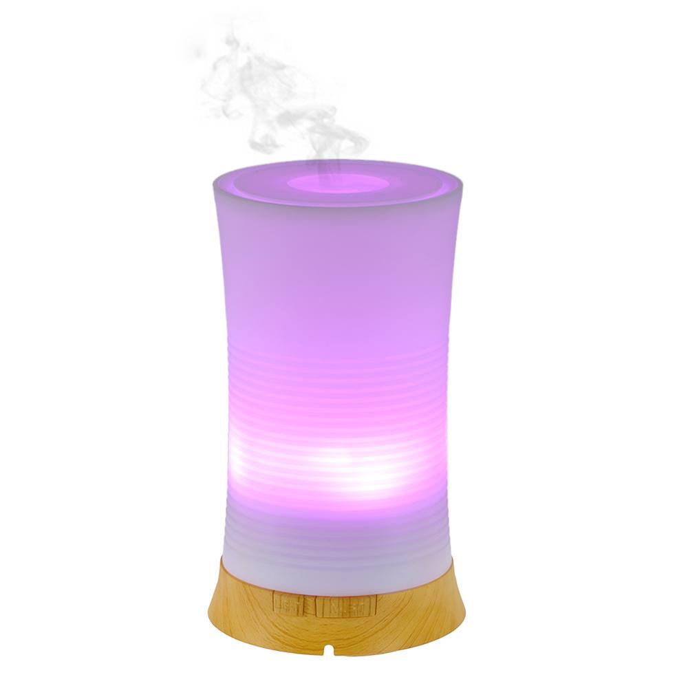 Essential Oil Diffuser 100ml Aroma Essential Oil Cool Mist Humidifier 7 Color LED Night Lights Changing for Home Office Baby