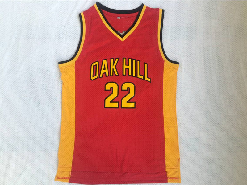 BONJEAN Cheap Throwback Basketball Jerseys 22 Carmelo Anthony Jersey Oak Hill High School Red Stitched Mens Retro Shirts ...