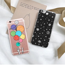 Phone Case For iPhone 7 8 Plus XS Max XR Fashion Silicone Cases For iPhone X 8 7 6 6S Plus 5 SE Soft transparent TPU Cover цена и фото