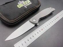 Новый тактический складной нож D2 стеклоочистителя титановая ручка F95 керамическими подшипниками открытый отдых на природе охота карманный нож EDC ручной инструмент