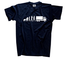 Standard Edition Trucker Evolution Truck Driver Harajuku Tops t shirt Fashion Classic Unique