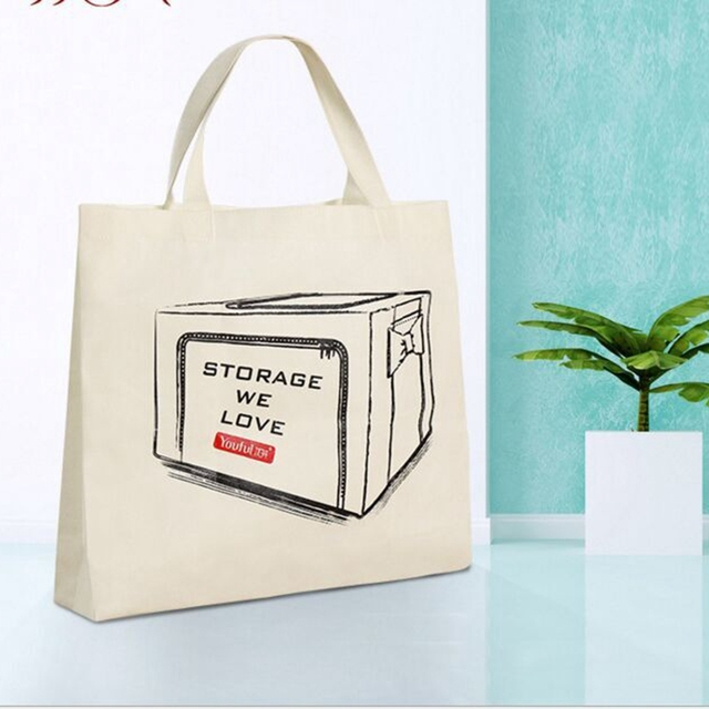 Well-known 2016 Large reusable grocery tote bag big foldable bag canvas  NX15