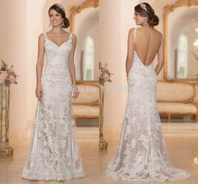 Lujo Vestido De Noiva Casamento ingresos vestidos De novia De ...
