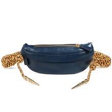 Waist Pack Women Girls Pouch Belt Double Zipper Chest Bags Retro Pure Crossbody Bag  Pochete