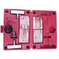 35pcs Car Van Emergency Tubeless Tyre Puncture Repair Kit Tire Tool Plug