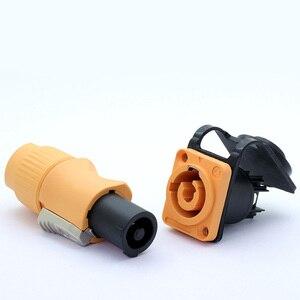 Image 2 - 4set Impermeabile Powercon Connettore 20a 250V 3 Spilli, NAC3FCA e NAC3MPA 1, di alimentazione Maschio Spina di Alimentazione + Femmina Chassis Socket Connettore