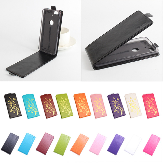 Luxury leather case For Huawei Nexus 6P Flip cover housing case For Huawei Nexus 6 P Mobile Phone cases covers Phone Bags Fundas image