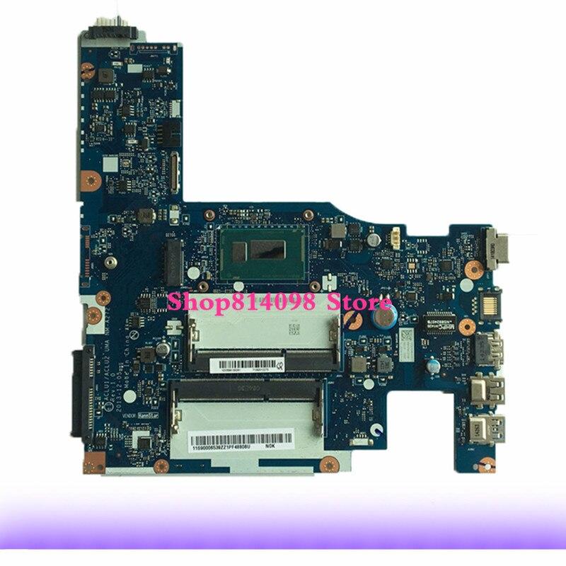 KEFU ACLU1/ACLU2 NM-A272 laptop Motherboard for Lenovo G50-70 motherboard nm-a272 motherboard i3 CPU Test motherboardKEFU ACLU1/ACLU2 NM-A272 laptop Motherboard for Lenovo G50-70 motherboard nm-a272 motherboard i3 CPU Test motherboard